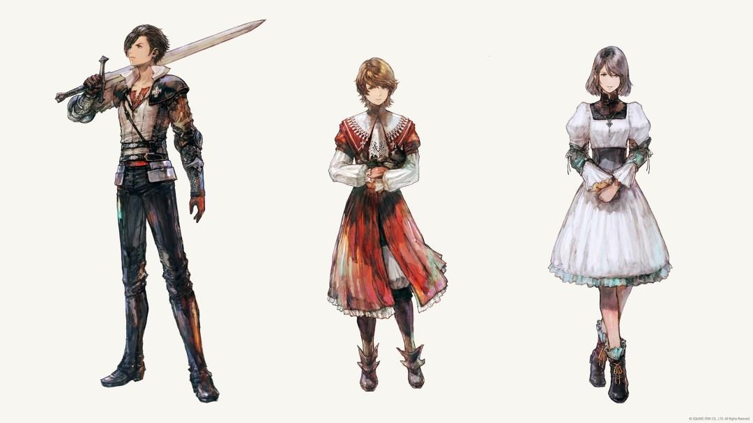 Protagonistas de Final Fantasy XVI