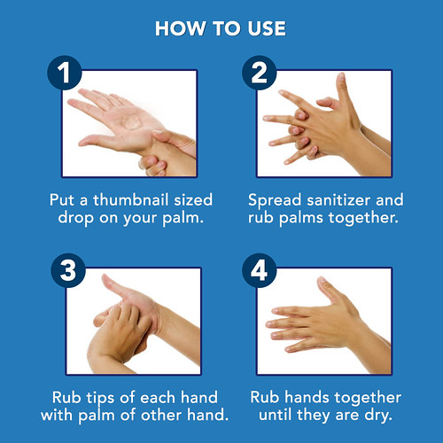 Lysol Hand Sanitizer How to properly Wash Hands