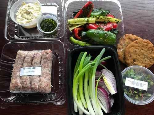 Prairie Grass Cafe Lamb Sausage Meal Kit