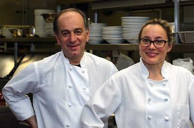 Prairie Grass Cafe Chefs/co-owners George Bumbaris and Sarah Stegner