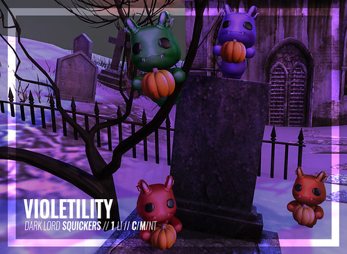 Violetility - Halloween Dark Lord Squickers Gift