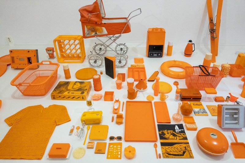 Der Alltag ist orange