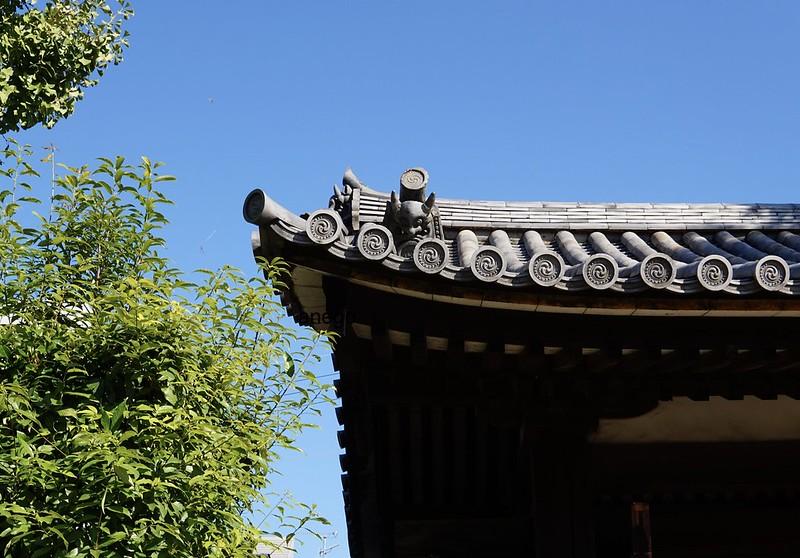 元興寺 鬼瓦