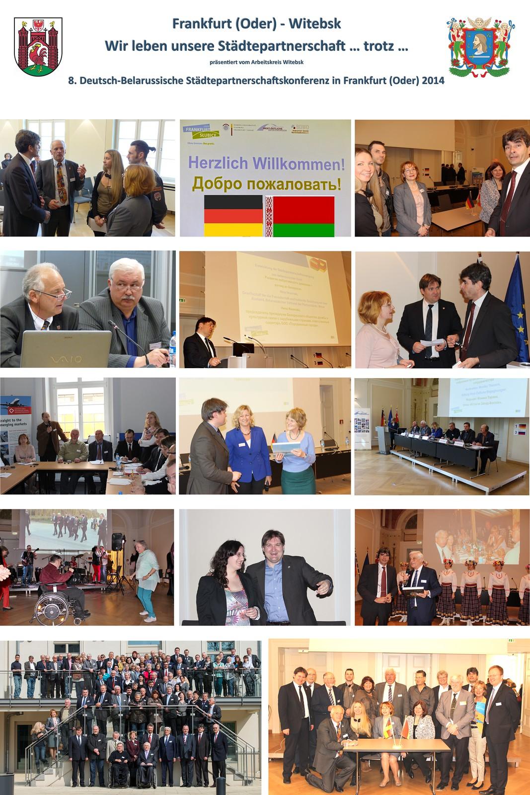 WitebskAusstellung tädtepartnerschaftskonferenz