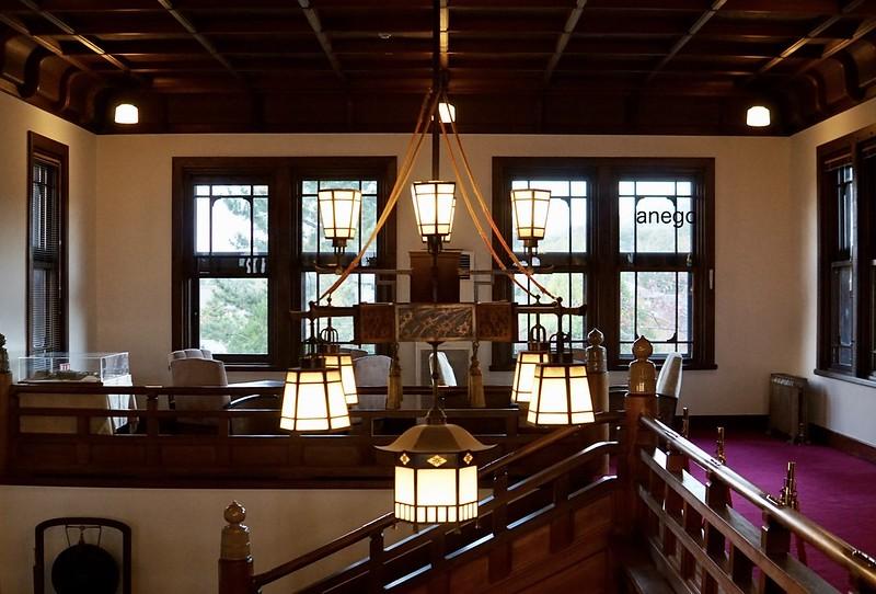 奈良ホテル シャンデリア