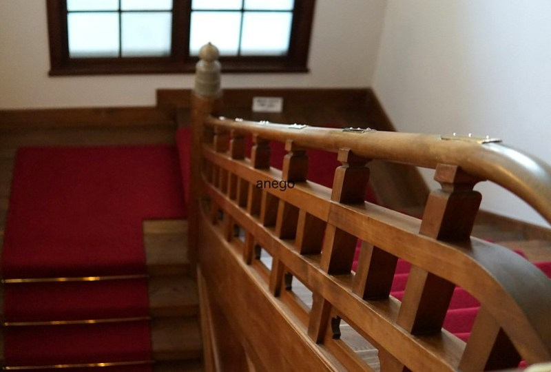奈良ホテル 階段