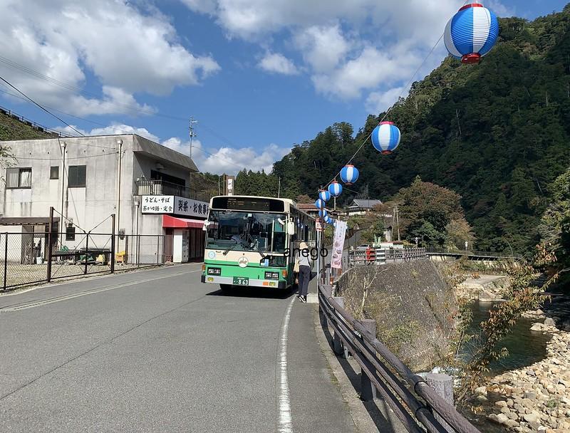 室生寺 バスを降りる