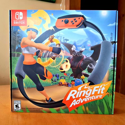 Ring Fit Adventure ~ Fall Into Fitness with Nintendo #MySillyLittleGang #RingFitAdventure