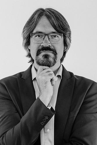 Mikolai Stroinski portrait B+W