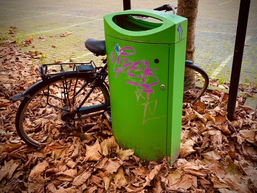 Rotterdam Daily Photo: Green waste!