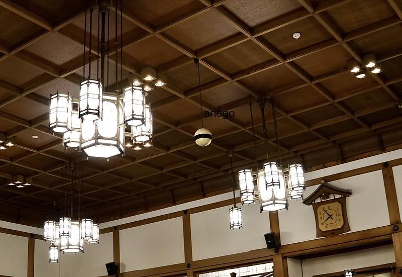 奈良ホテル 三笠 シャンデリア