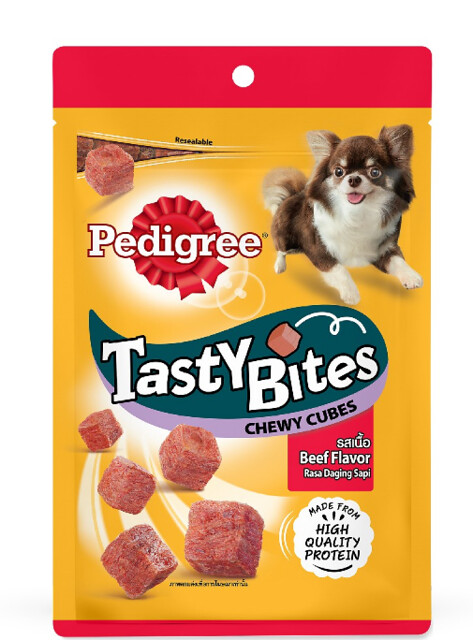 Tasty Bites Chewy Cubes Beef 50g