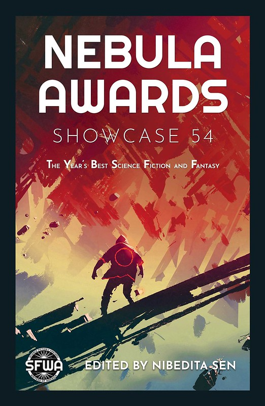 The cover to Nebula Awards Showcase 54