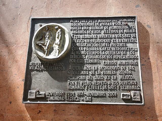 Placa conmemorativa en el centro cultural José Martí cdmx