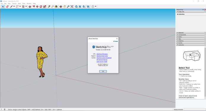 Working with SketchUp Pro 2021 v21.0.339 full license