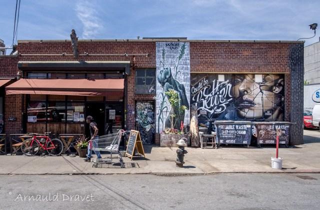 Painting in Brooklyn / Streetart - Kings County, New York, États-Unis - 11/05/2018 12h37