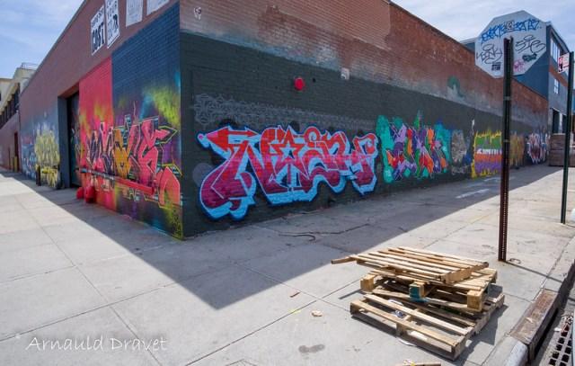 Painting in Brooklyn / Streetart - Kings County, New York, États-Unis - 11/05/2018 12h51