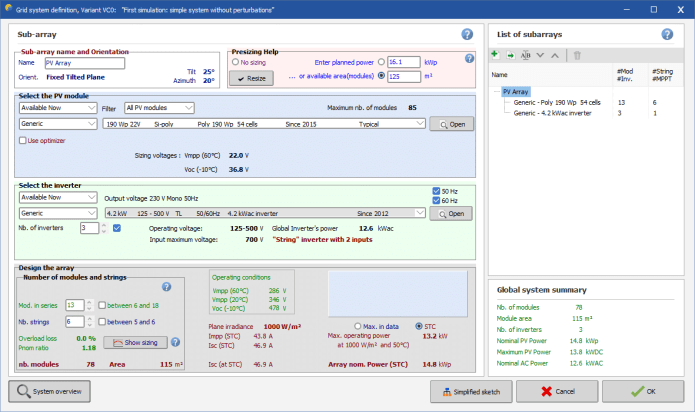 Working with PVsyst Professional 7.0.17 full license