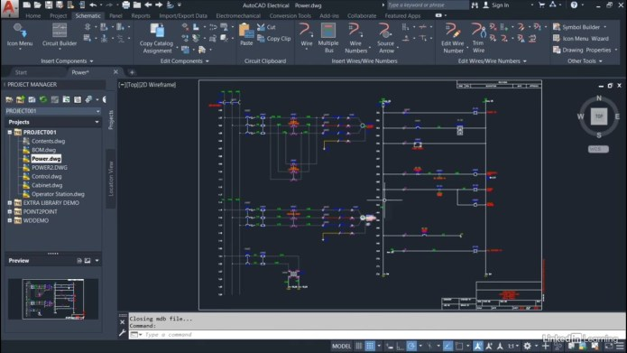Learning AutoCAD Electrical 2020 with professor