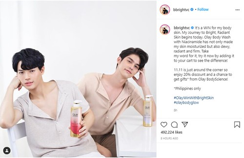 Bright and Win Olay Philippines