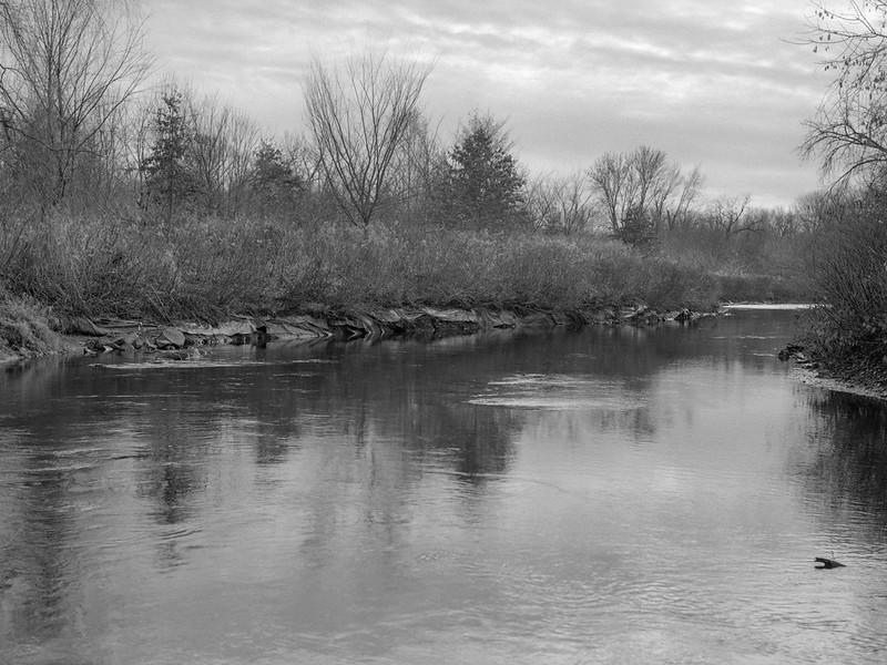 Grays Landing, Kayaderosserass Creek