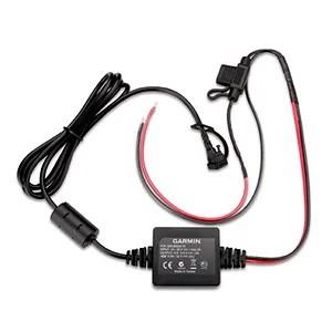Garmin zumo 396 LMT-S Motorcycle Power Cable [SOURCE: Garmin]