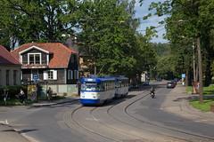 Suburban tram
