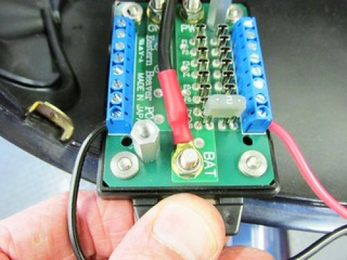 2 Amp Mini-Fuse Installed For GPS Circuit