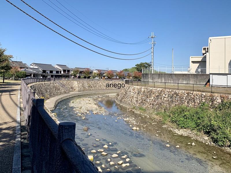 今井町 飛鳥川