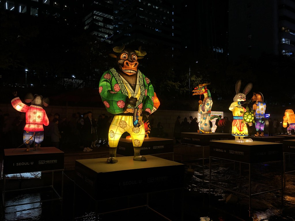 Cheonggyecheon Stream Lantern Festival