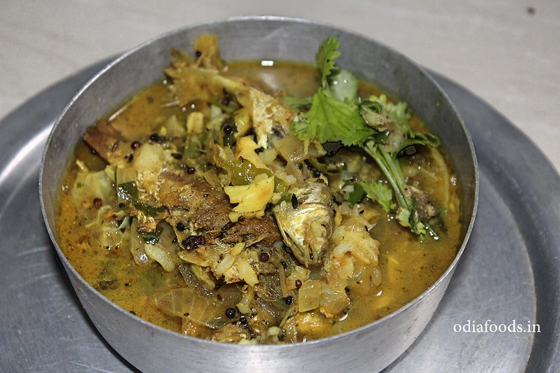 fishcurry in turmeric water - Macha Ra Haladi Pani