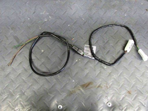 Rear Brake Light Sub-harness Connected To Heated Grip Sub-harness
