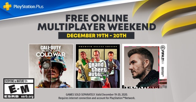 PlayStation Plus multiplayer weekend