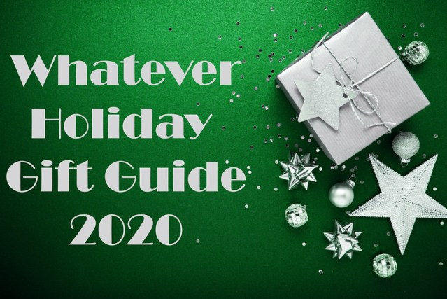 Whatever Holiday Gift Guide 2020: Traditionally Published Books