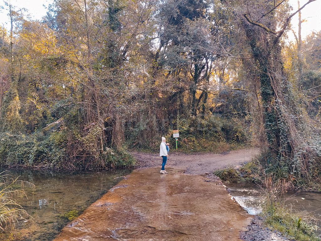 Camino dirección Gorg Molí dels Murris · Senderismo a la Garrotxa · ClickTrip ·