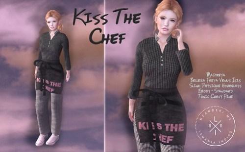MM Kiss The Chef - Kitchen Hunt Gift :)