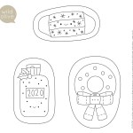 Wild Olive Pattern And Project Embroidered Felt Ornaments For 2020