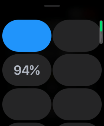 Apple Watch CC no icon