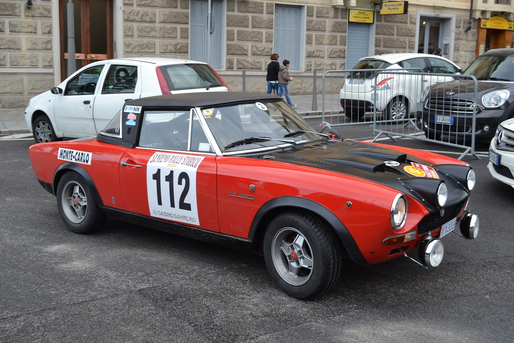 Nearly 200,000 were built, and in 1973—when the car in our photos was purchased—the price was an economical $3259. Fiat 124 Spider Abarth Rallye 1970 San Remo 2016 Rallye Flickr