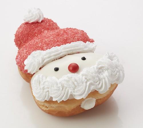 Santa Claus Krispy Kreme