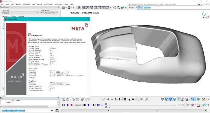 Working with BETA-CAE Systems meta v20.1.4 full