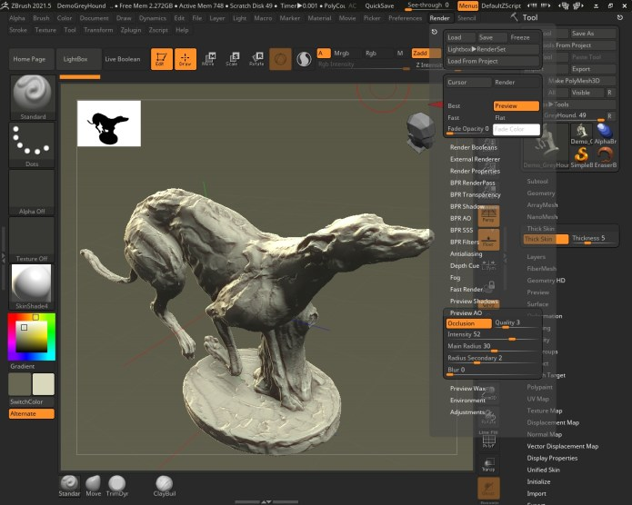 Working with Pixologic ZBrush 2021.5 full license