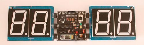 Bluetooth Controlled Digital Scoreboard based on Scoreduino-B (8)