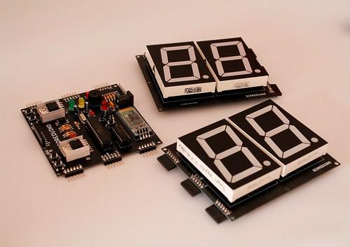 Bluetooth Controlled Digital Scoreboard based on Scoreduino-B (5)