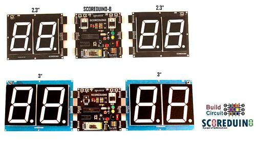 Bluetooth Controlled Digital Scoreboard based on Scoreduino-B (29)