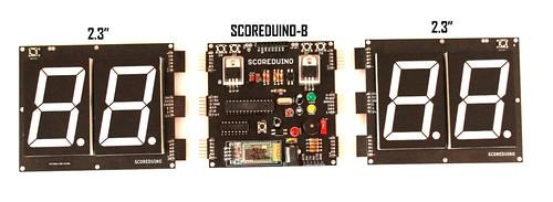 Bluetooth Controlled Digital Scoreboard based on Scoreduino-B (28)