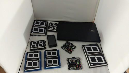 Bluetooth Controlled Digital Scoreboard based on Scoreduino-B (27)