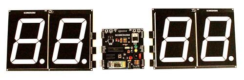 Bluetooth Controlled Digital Scoreboard based on Scoreduino-B (20)
