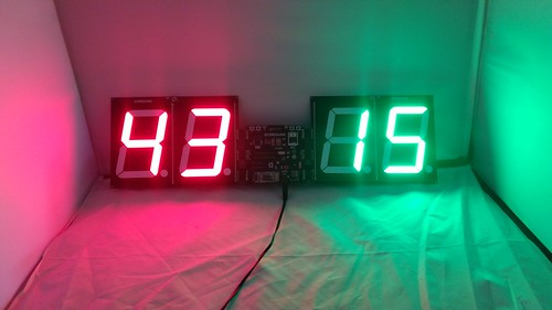 Bluetooth Controlled Digital Scoreboard based on Scoreduino-B (24)
