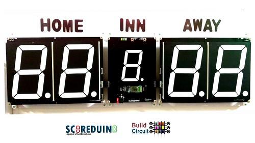 Bluetooth Controlled Digital Scoreboard based on Scoreduino-B (23)